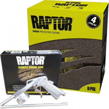 RAPTOR® 4L SET FARBLOS
